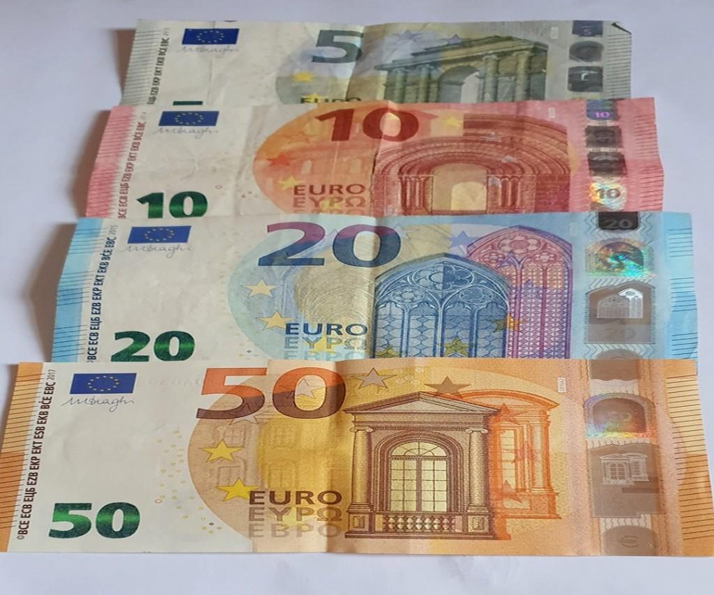 Les euros en couleur!