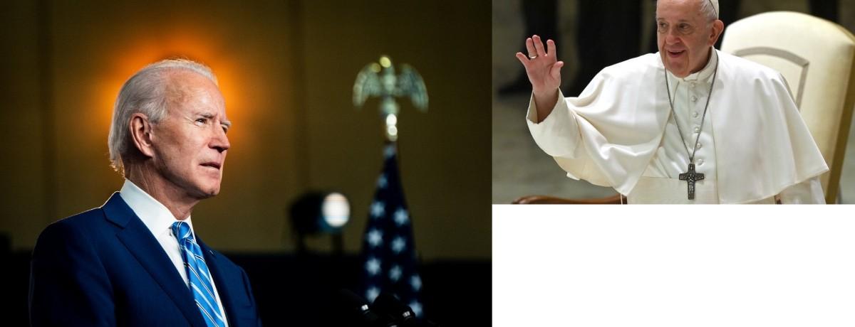 Utilité de ce message du Pape au présidentR.BIDEN?