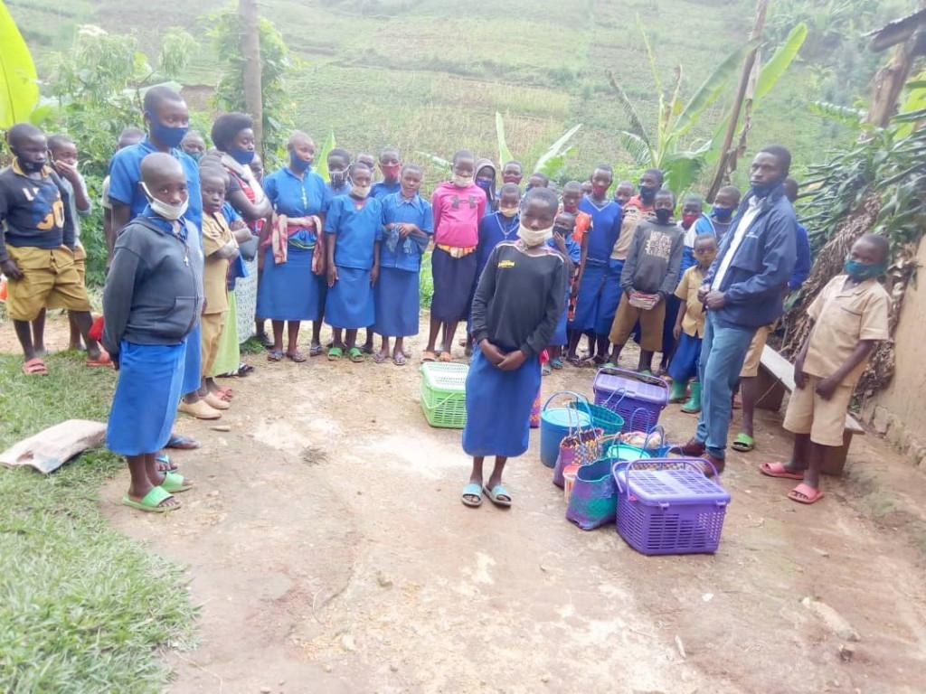 Un Carême de partage vécu à l'École primaire deNYABIGOMA