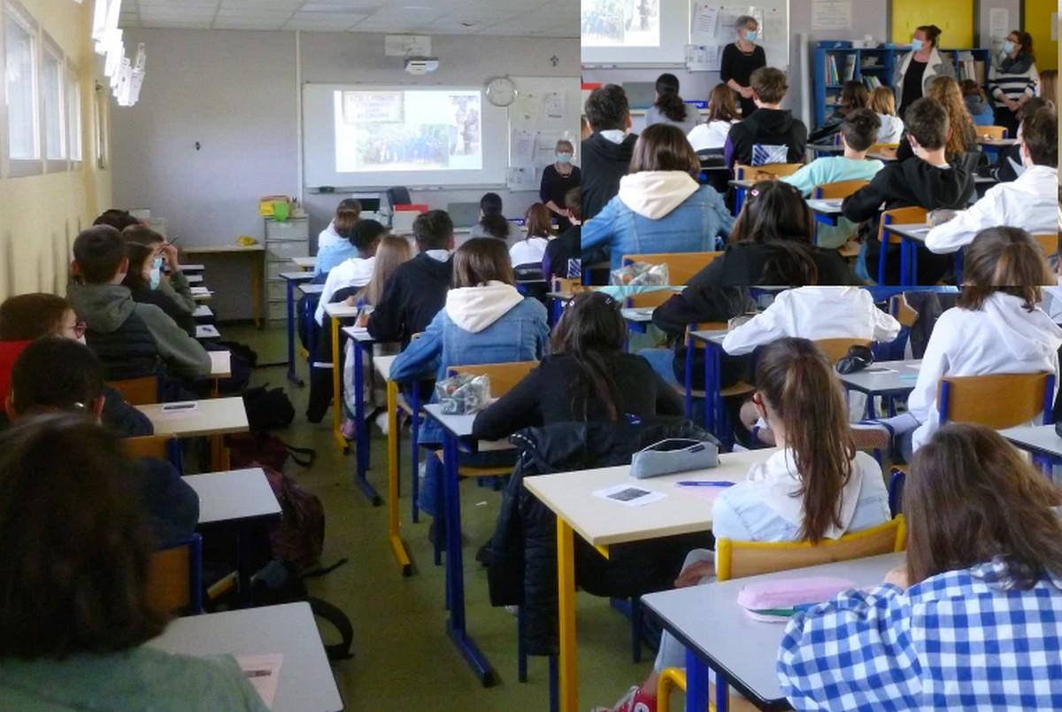 Des élèves bretons découvrent le RWANDA!!