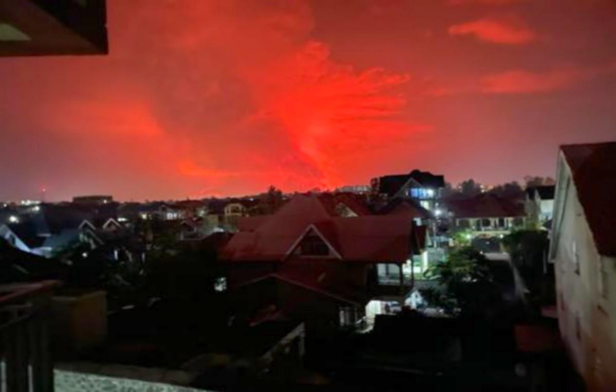 RDC: Eruption du volcan NYIRAGONGO confirmée par le Gouverneurmilitaire