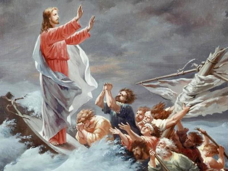 Jésus qui apaise nos tempêtes